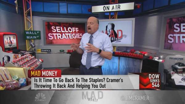 Cramer: Start picking at tech