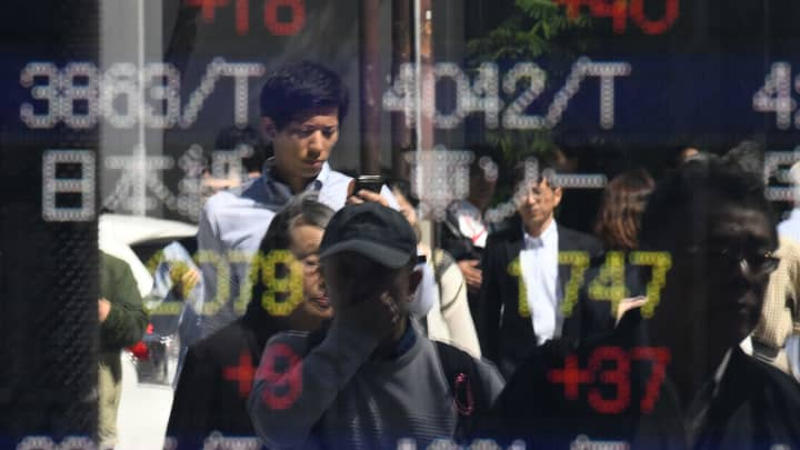 Stocks in Asia mixed ahead of ECB interest rate decision