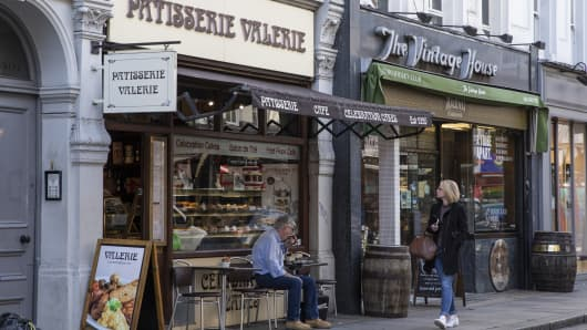 A general view of a Patisserie Valerie shop on October 11, 2018 in London, England. The company is facing a 'winding up' order after financial irregularities were identified. (Photo by Dan Kitwood/Getty Images)