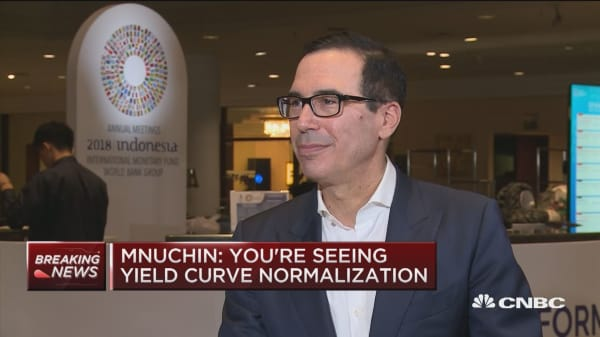 Sec. Mnuchin: President likes low rates but Fed not damaged by anything he's said