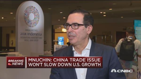 Sec. Mnuchin: I'm planning on going to Saudi FII event