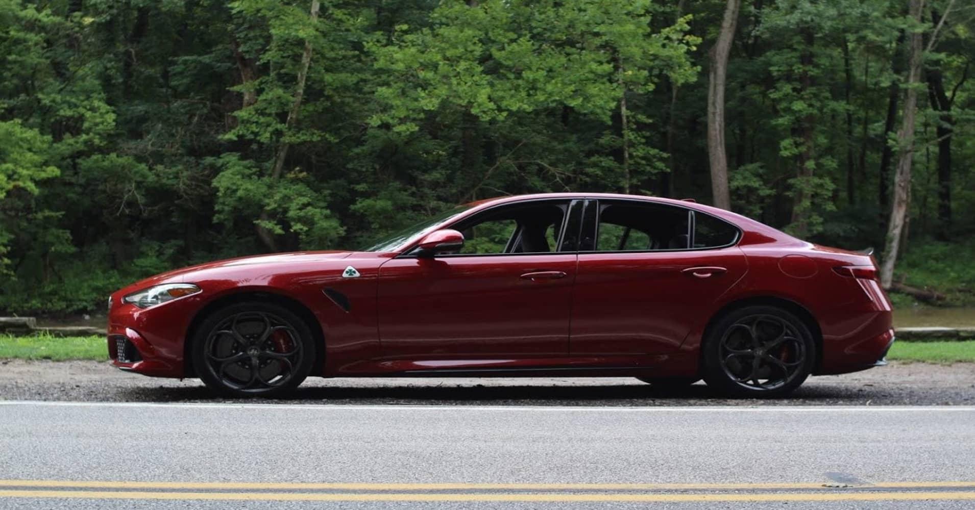 The 2018 Alfa Romeo Giulia Quadrifoglio is a near-perfect sports sedan