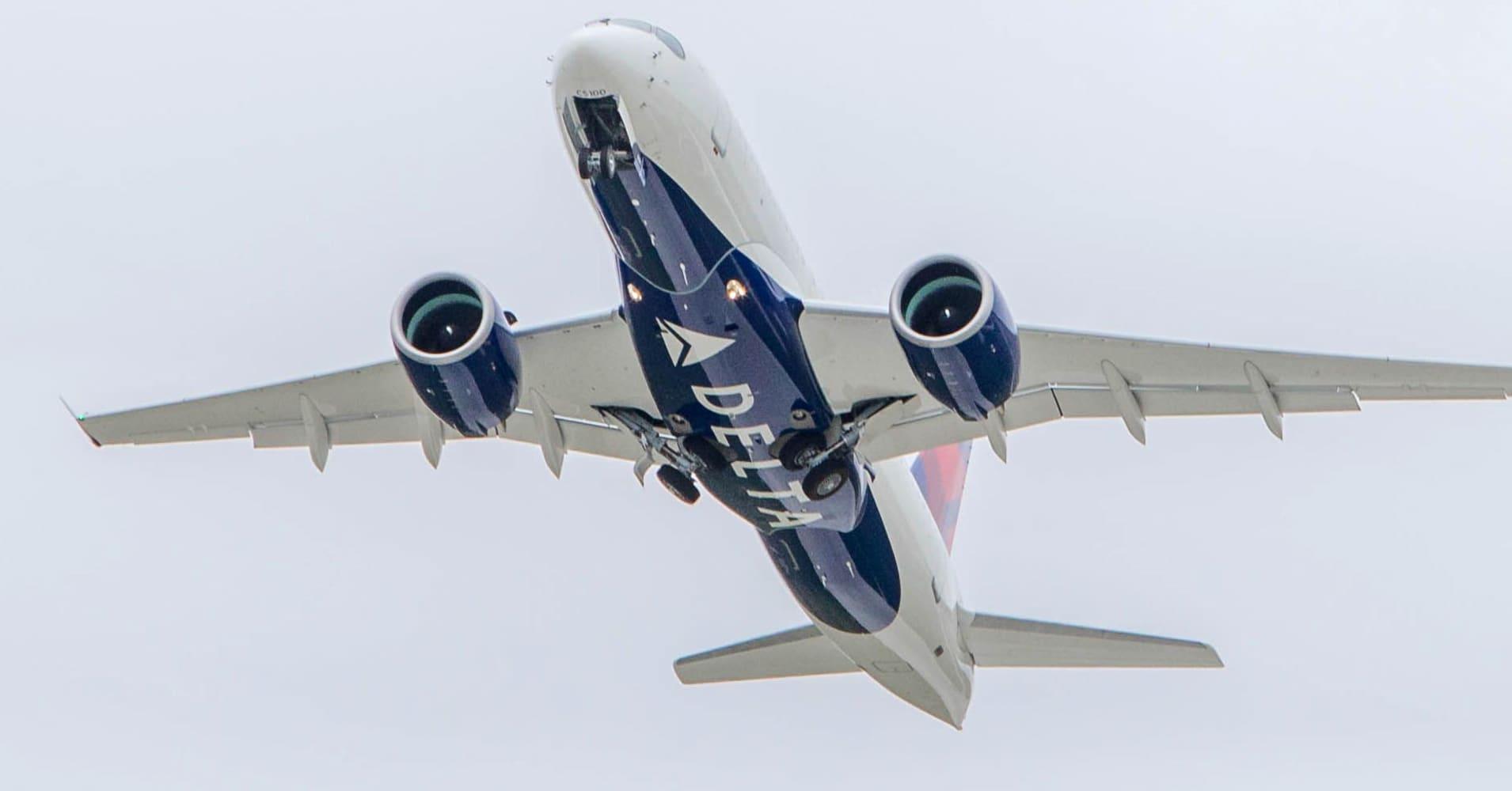 Government shutdown postpones debut of Delta's brand-new A220 jets, aviation geeks groan