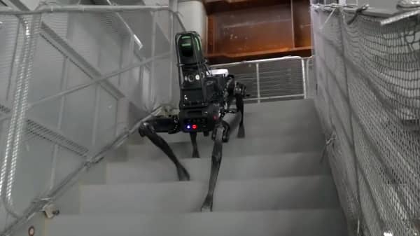 Boston Dynamics Spot Is Being Put To Work