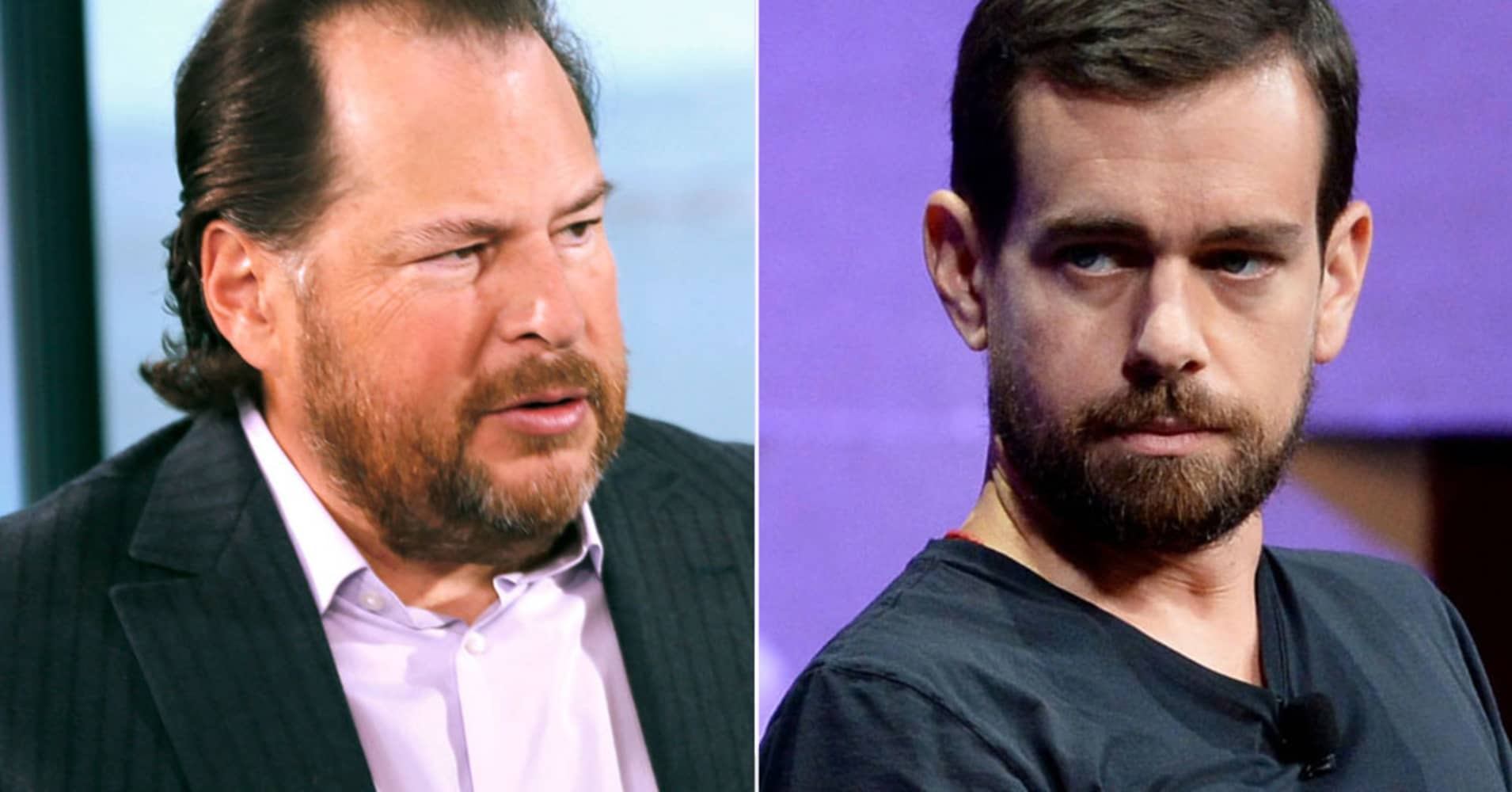 San Francisco tech CEOs Marc Benioff and Jack Dorsey spar over proposal to fight homelessness