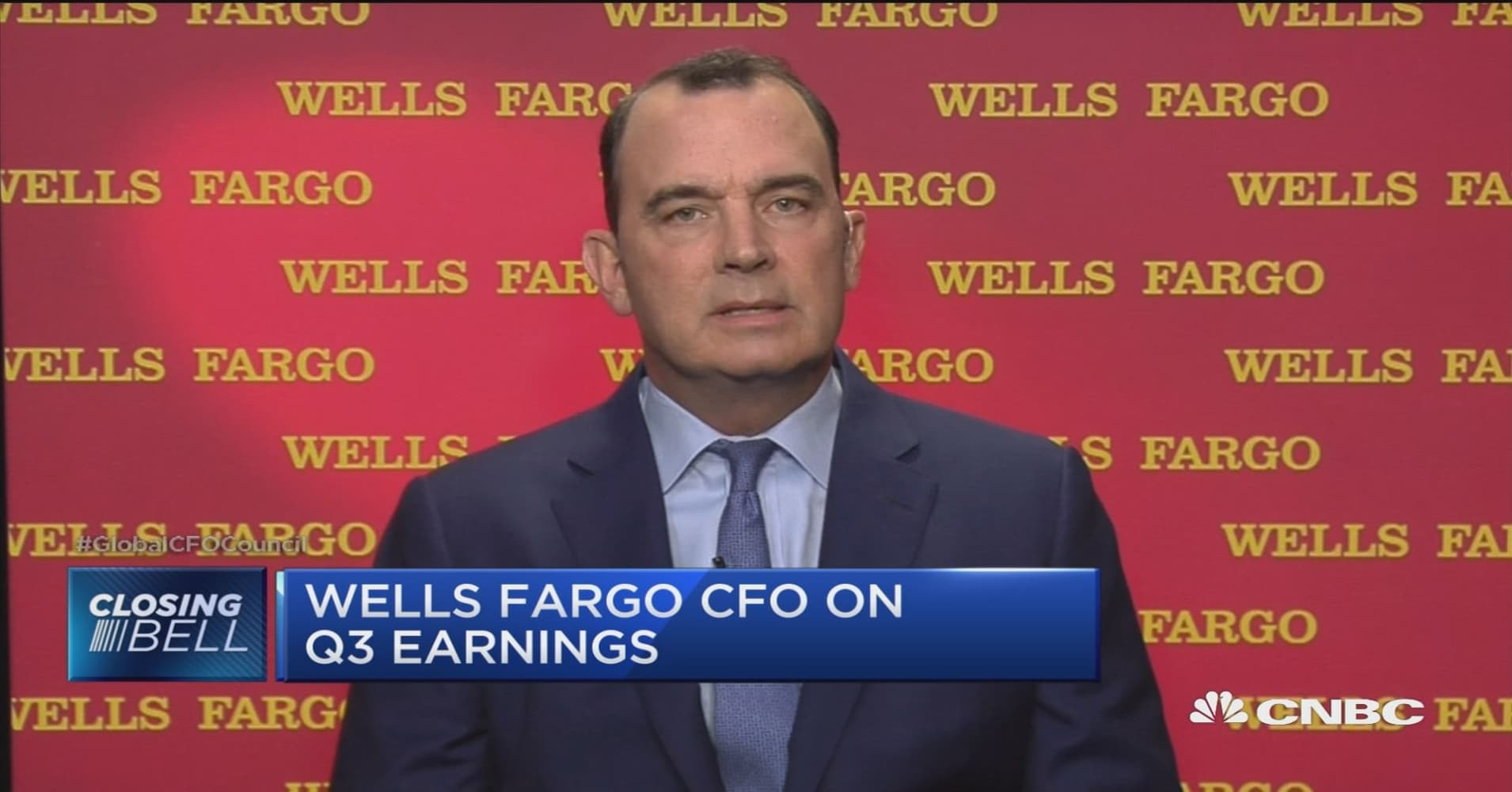 Wells Fargo CFO: This cycle has been slow to adjust on deposit pricing size