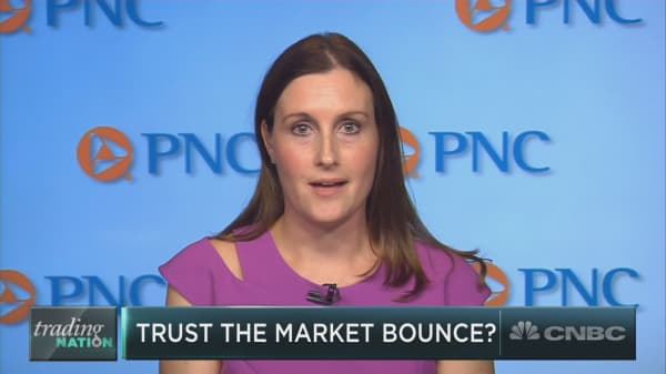 Investors should trust the bounce after the monster sell-off, says PNC's top investment strategist