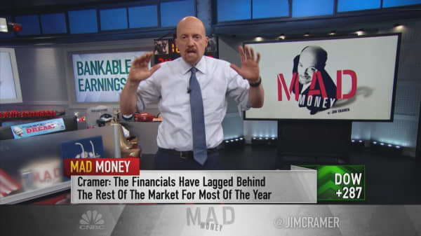 Cramer: JP Morgan's stock is 'still best of breed' despite CEO's cautious remarks