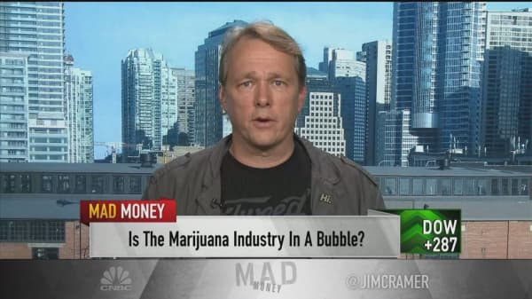 Cannabis could disrupt a $500 billion market, says CEO of top marijuana maker after deal with DEA