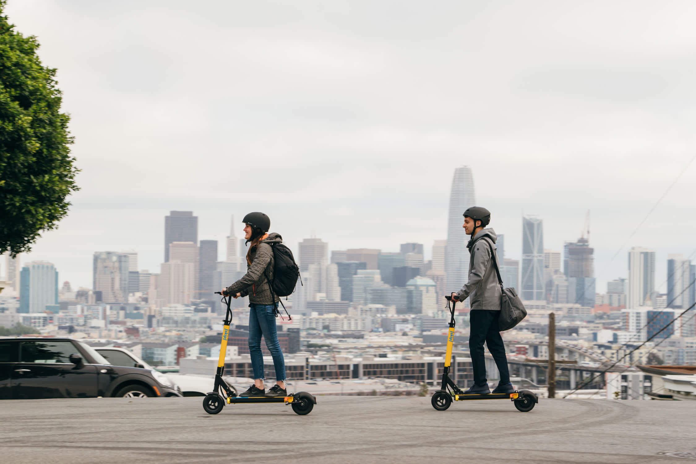 Electric scooters return to San Francisco after a citywide ban recommendations