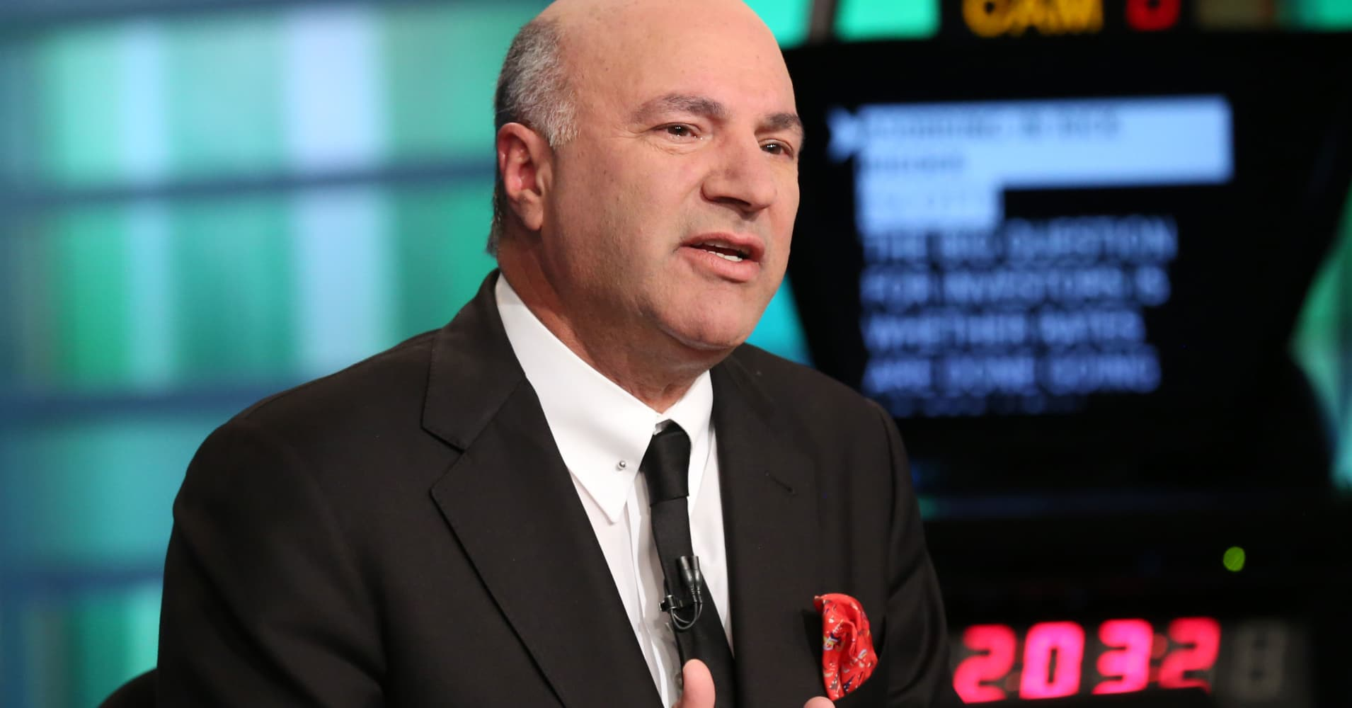 Kevin O'Leary: If you want to get rich, start working 25 hours a day, 7 days a week