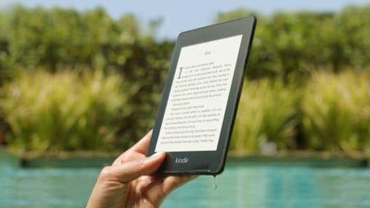 The new Kindle Paperwhite is water-resistant.