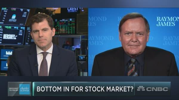 Amid the major market volatility, veteran market watcher Jeff Saut explains what comes next