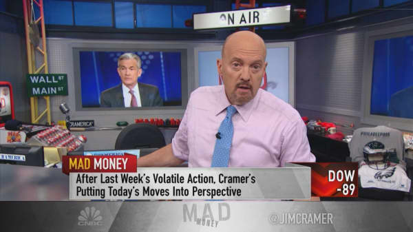 Cramer's No. 1 fear in this market? The rally in shares of Clorox