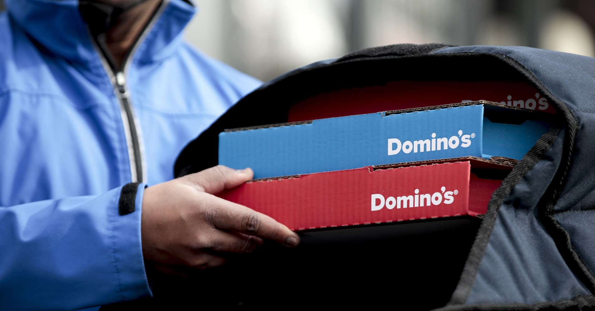 Domino's says rapid store expansion means more money for its delivery drivers