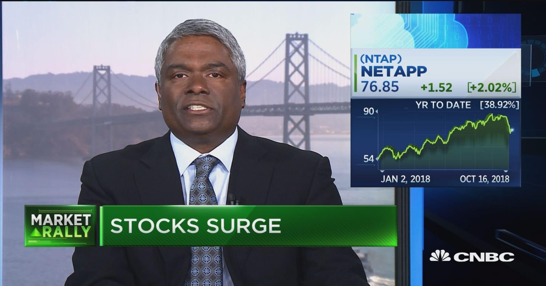 NetApp CEO on data-driven future