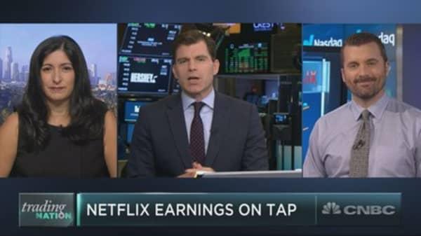 Netflix soars ahead of earnings