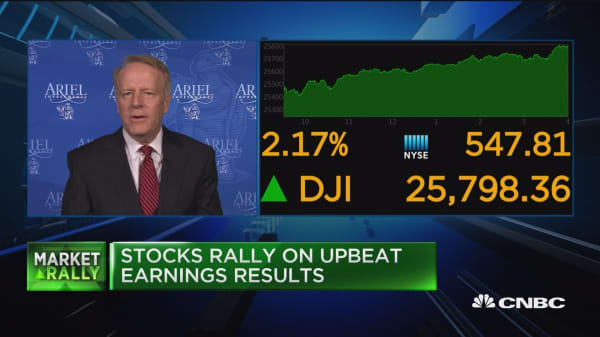 All 11 S&P sectors close higher after market sell-off
