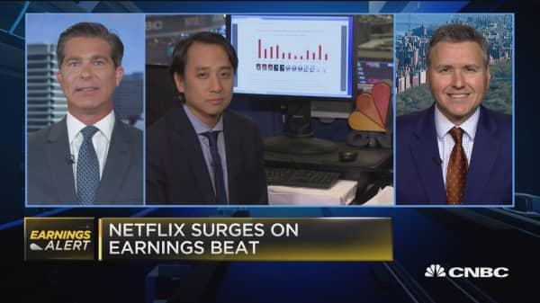 Netflix subscriber growth was a 'huge, huge beat': Expert