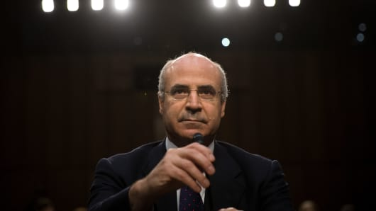 William Browder, chief executive officer of Hermitage Capital Management, takes his seat as he arrives for a Senate Judiciary Committee hearing titled 'Oversight of the Foreign Agents Registration Act and Attempts to Influence U.S. Elections' in the Hart Senate Office Building on Capitol Hill, July 27, 2017 in Washington, DC.