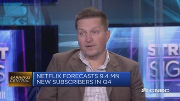I'd be surprised if a name like Microsoft isn't interested in acquiring Netflix, says analyst