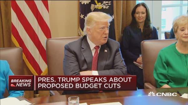 Trump Seeking Five Percent Budget Cut To Get Rid Of U0027fatu0027 And U0027waste