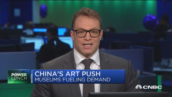 Chinese museums fueling demand for fine art