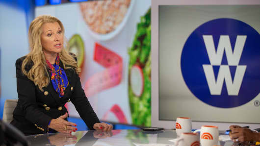 Mindy Grossman took the helm of Weight Watchers in 2017. Under Grossman, the company shortened its name to WW.
