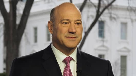 Gary Cohn, director of the U.S. National Economic Council.