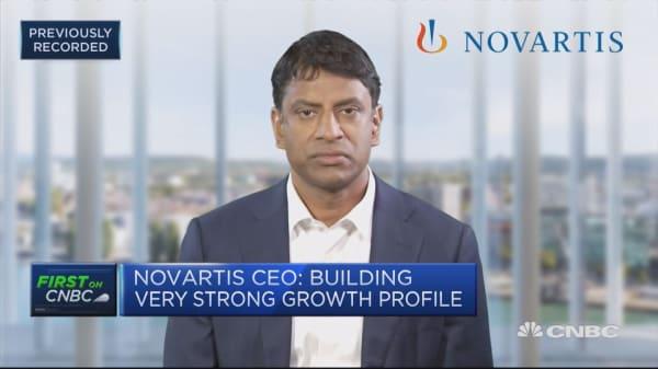 Novartis CEO: Innovation pipeline is really delivering