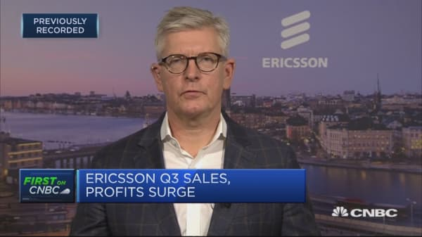 Ericsson is well on the way to meeting 2020 targets, says CEO