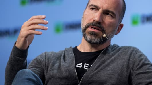 Dara Khosrowshahi, chief executive officer of Uber Technologies.