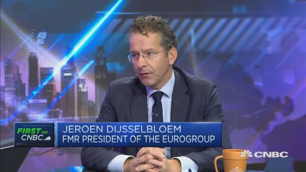 Italy's situation is 'pretty worrisome': Dijsselbloem