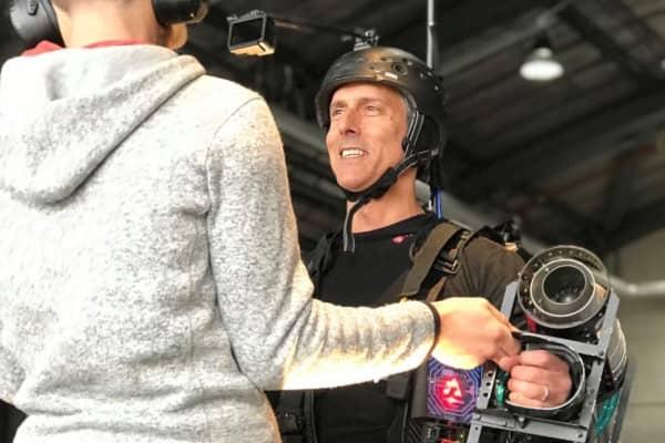 CNBC Senior Executive Producer Ray Parisi starts his jet engines.