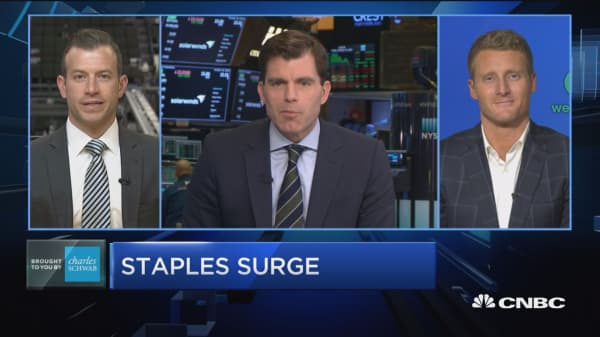 Trading Nation: Consumer staples surge