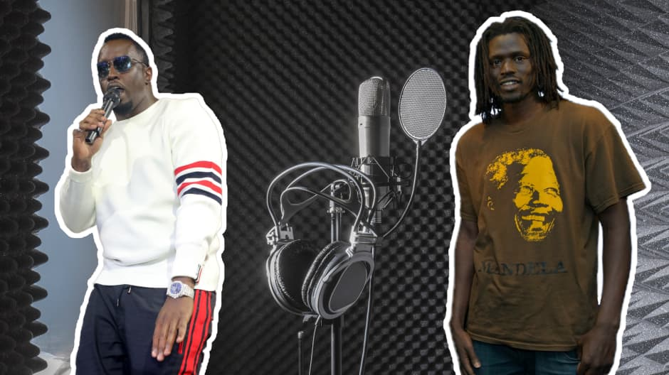 aeae9b3e93d92 How this ex Sudanese child soldier was inspired by P. Diddy to become a  successful hip-hop artist