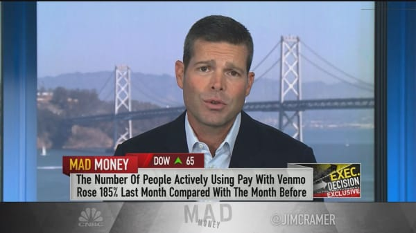 1 in 4 Venmo users' actions on the app can be monetized, PayPal CFO says