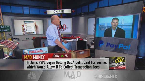 Many Venmo users' actions on app can be monetized, PayPal CFO says