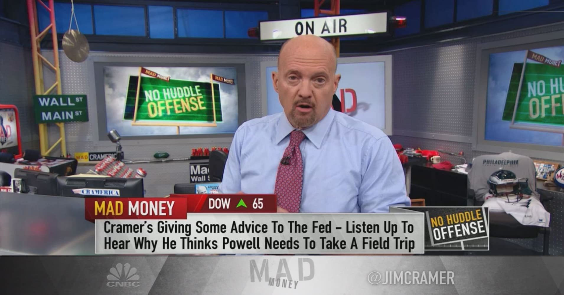 Cramer to Fed: Consider jobs wiped out by technology before hiking rates
