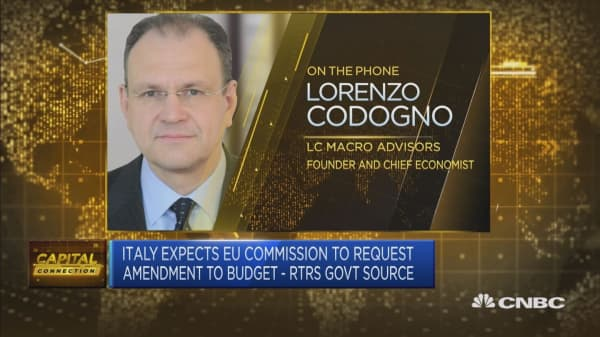 Very likely Italy government will confirm the budget targets: Analyst
