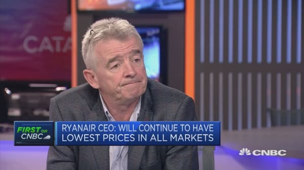 Ryanair CEO: Some union demands are 'simply unreasonable'