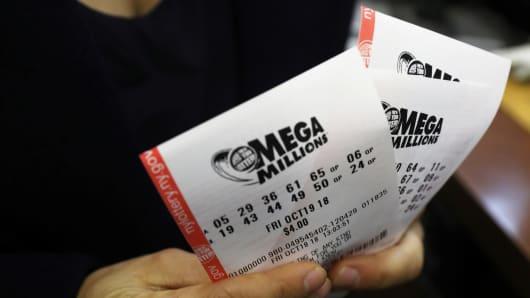 Mega ball lottery prizes taxes
