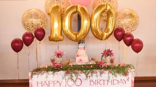 100th Birthday Celebrations