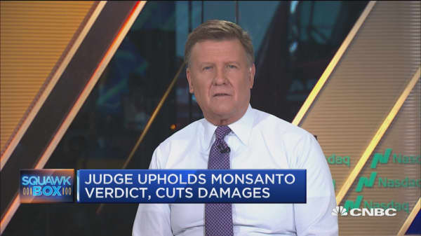Judge upholds Monsanto verdict, cuts damages