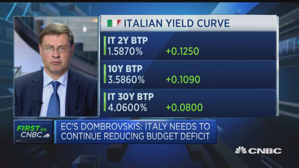 Italy should adjust its fiscal trajectory to keep interest rates acceptable: European Commissioner