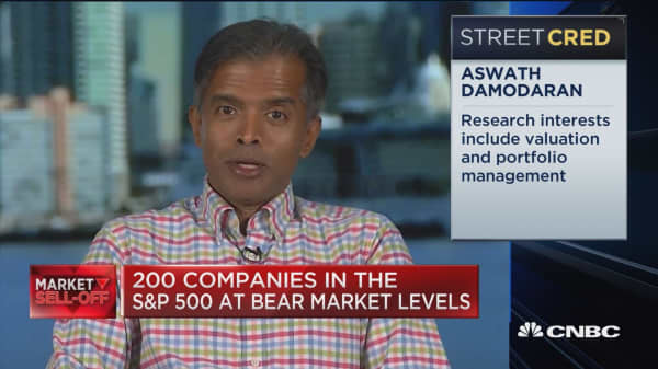 Older tech companies among the more reasonable stocks right now, says NYU Stern's Damodaran