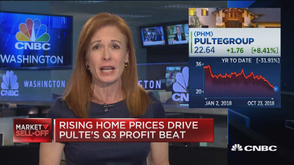 Rising home prices drive PulteGroup Q3 profit beat