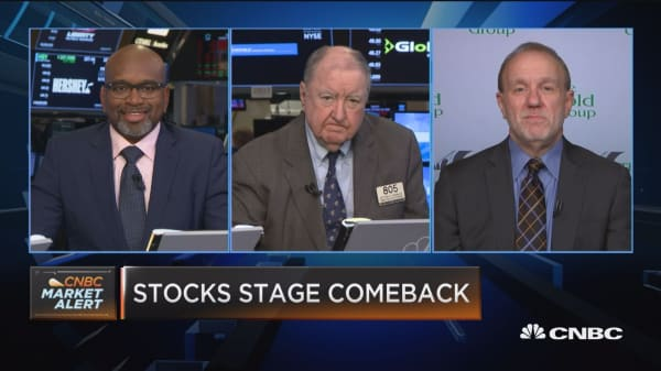 Closing Bell Exchange: Stocks staging a comeback