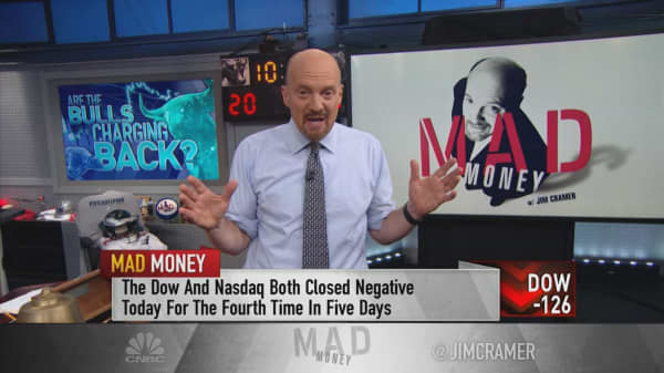 The fear gauge and strong earnings tell Jim Cramer this bottom in the stock market may be real