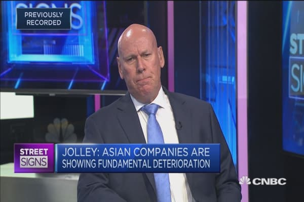 The fundamentals in Asian markets are 'deteriorating': Strategist